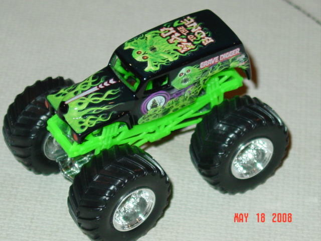 1/64th Monster Truck Diecasts